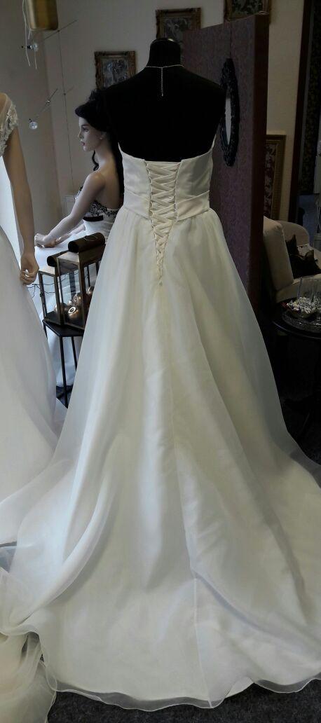 figurfreundliches Brautkleid