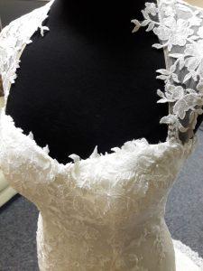 Modern Vintage Spitze Traum - Brautkleid