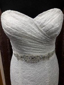 Eine strahlende Braut!