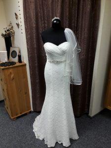 Das perfekte Brautkleid ist gefunden. Unser Ziel